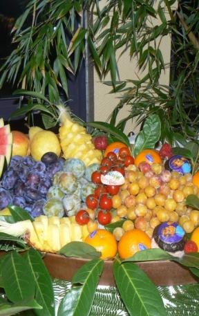Buffet de fruits de saison