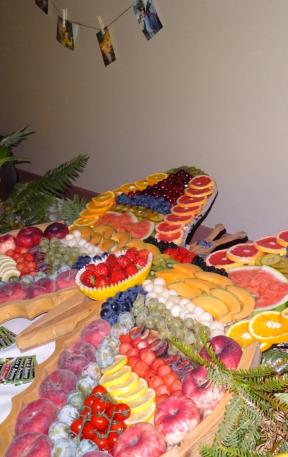 Buffet de fruits de saison